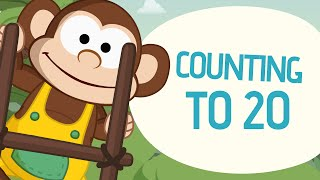 getlinkyoutube.com-Counting to 20 - Learn to count from 1 to 20 - Nursery Rhymes - Toobys