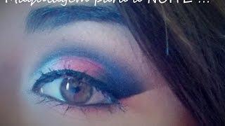 getlinkyoutube.com-Maquiagem para a Noite _ Vinho e Prata !
