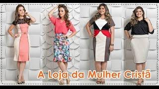 getlinkyoutube.com-Moda Evangelica Colecao Alto Verao 2015 - Lara Bless