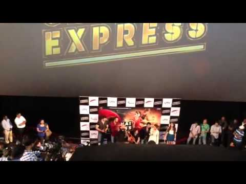 SRK Sings A Song At Chennai Express First Look Launch