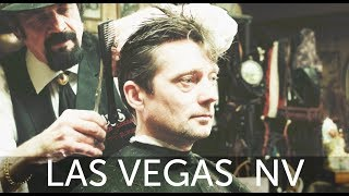 getlinkyoutube.com-HairCut Harry's Las Vegas Haircut Experience at Cliff's Barber Corral - (ASMR)