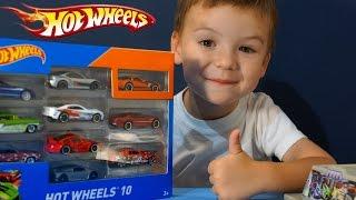 getlinkyoutube.com-Машинки Хот Вилс видео на русском. Игрушки Hot Wheels. Парковка Хот Вилс. Игрушки Машины