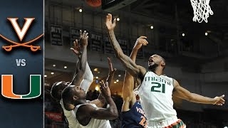 Virginia vs. Miami Basketball Highlights (2016-16)