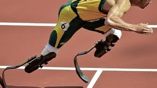 getlinkyoutube.com-Oscar Pistorius runs 400M London Summer Olympics 2012