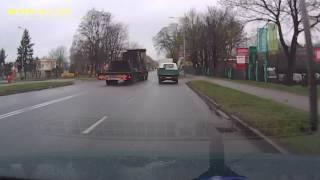 Kierowca ciężarówki.