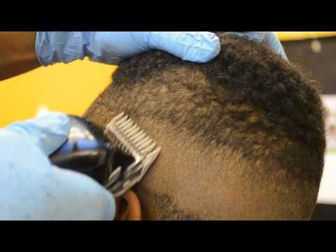 how to fade kendrick lamar haircut nudred razor line