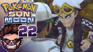 getlinkyoutube.com-Pokemon Sun & Moon Playthrough w/ ShadyPenguinn Part 22 | Garden Boy Guzma!
