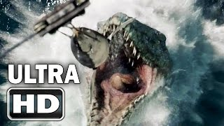 getlinkyoutube.com-[Super HD] JURASSIC WORLD Official Trailer [HD 2K]