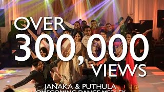 getlinkyoutube.com-Janaka & Puthula Homecoming Dance | Bollywood Medley