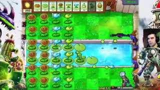 getlinkyoutube.com-Na basen! - Plants vs Zombies #8