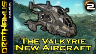 getlinkyoutube.com-The Valkyrie - New Fast Attack Craft! Upcoming PlanetSide 2 Air Vehicle