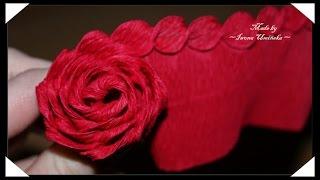 getlinkyoutube.com-Изготовление цветов из гофрированной бумаги
