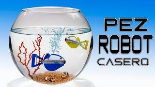 getlinkyoutube.com-Como Hacer un Pez Robot Casero ( Sin Usar Pilas )