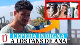 Cepeda indigna a los fans de Ana Guerra tras el éxito de ni la hora y las comparaciones con Esta Vez