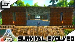 getlinkyoutube.com-ARK: Survival Evolved - BIG BASE BEGINS! S4E9 ( The Center Map Gameplay )