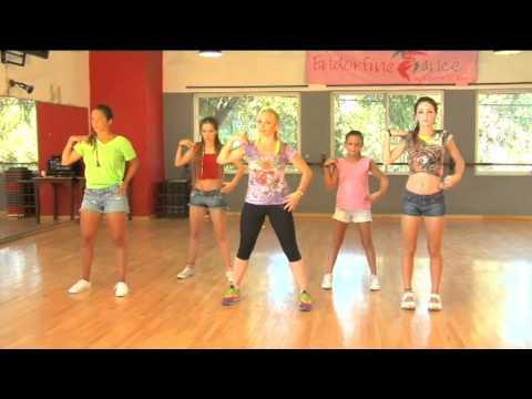 Coreografía de Danza Kuduro (Paso a Paso) / TKM Argentina