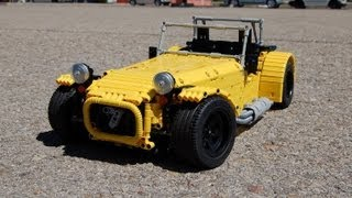 getlinkyoutube.com-LEGO Caterham Seven, FULL REMOTE CONTROLLED! by Sheepo