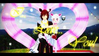 getlinkyoutube.com-MMD [FNAF]-I Love You [Mangle,Foxy]