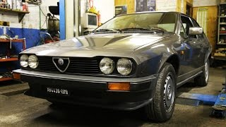 Alfa Romeo Alfetta GTV6 2.5 - Davide Cironi Drive Experience (ENG.SUBS)
