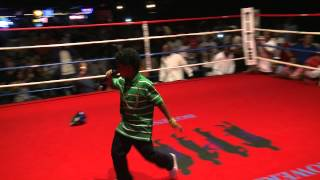 Lil P-Nut Performs at Flowers Power Boxing