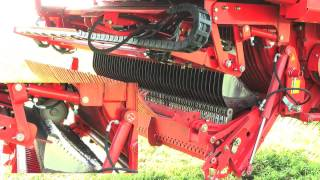 Pottinger AUTOCUT automatic knife sharpening system for Jumbo silage Trailers