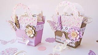 getlinkyoutube.com-Cestini Pasquali porta dolcetti - Easter Baskets treats holder