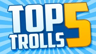Top 5 Trolls: Blowjob Prank & Angry Trickshot Clan!