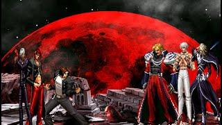 getlinkyoutube.com-Kyo Kusanagi, Iori Yagami & K' VS. Rugal B. Orochi & Igniz
