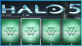 getlinkyoutube.com-Halo 5 REQ Pack Opening! Legendary Emblem! (Halo 5 Warzone Premium & Gold Packs)