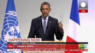 getlinkyoutube.com-COP 21: Obama's full speech at Paris conference - live