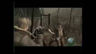 getlinkyoutube.com-Resident Evil 4 HACK GAME CUBE 2017