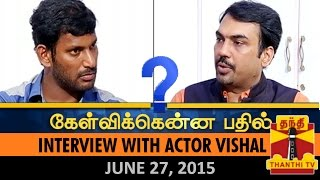 getlinkyoutube.com-Kelvikkenna Bathil:Exclusive Interview with Actor Vishal on Nadigar Sangam Elections (27/6/15)