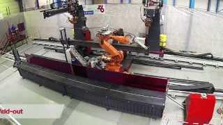 getlinkyoutube.com-ZEMAN - compact robotic beam assembly/welding (SBA Compact)