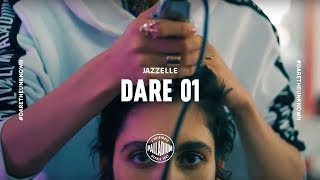 JAZZELLE DARE 1 // DARE TO CONFORM TO YOUR OWN EXPECTATION (THE HEAD SHAVE)