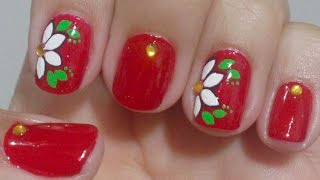 getlinkyoutube.com-Unhas Decoradas Simples Manual Bela e Simples Nail Art