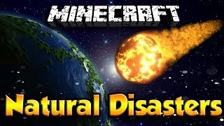 getlinkyoutube.com-Natural Disasters Mod - EARTHQUAKES, SINK HOLES, METEORS, AND VOLCANOES!! (Minecraft Mod Showcase)