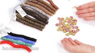 getlinkyoutube.com-Show & Tell: Czech Glass Ripple Beads