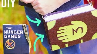 getlinkyoutube.com-Regalo ORIGINAL! Cartera BOLSO DE LIBRO para tu mejor amiga ✎ Craftingeek