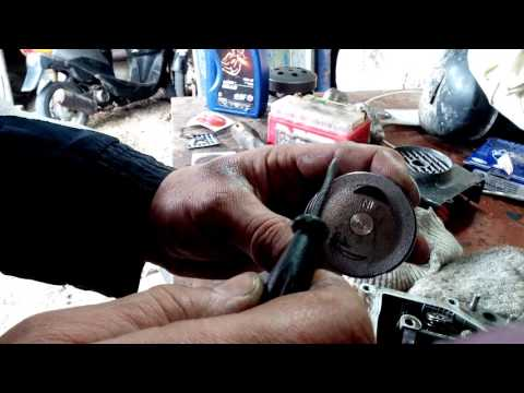 Скутер 4Т - правильная замена колец для новичков.