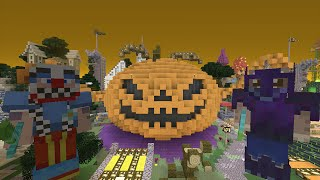 getlinkyoutube.com-Minecraft Xbox Lets Play - Survival Madness Adventures - Halloween Special Pumpkin Boss [131]