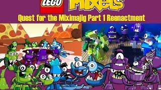 getlinkyoutube.com-Lego Mixels - Quest for the Miximajig Part 1 Re-Enactment
