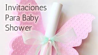40 Súper ideas Invitaciones para Baby shower HD
