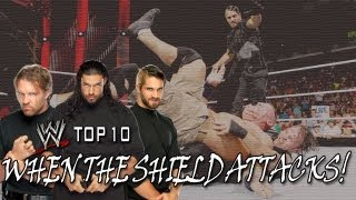 getlinkyoutube.com-The Shield's Path of Destruction - WWE Top 10