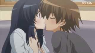 getlinkyoutube.com-Anime kiss scene HD