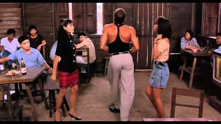 getlinkyoutube.com-Van Damme On the Dance floor HD (Kickboxer 1989 by Jean-Claude Van Damme)