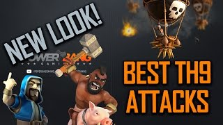getlinkyoutube.com-DESTROYING IN WAR - BEST TH9 ATTACKS!