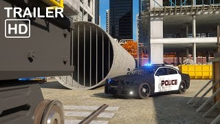 getlinkyoutube.com-Sergeant Cooper the Police Car 2  - Trailer 2 -  Real City Heroes (RCH) | Videos For Children