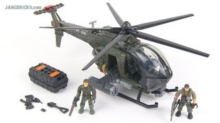 getlinkyoutube.com-Mega Bloks Call of Duty Chopper Strike set review