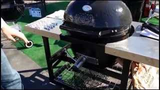 BBQ Dragon Demo on Various Grills and Fires