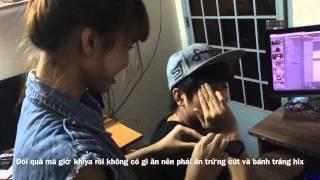 getlinkyoutube.com-Kelvin khánh và Huy Nam  bị khởi My đập trứng cút vào mặt